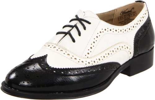 Wanted Shoes Women'S Babe Oxford,Black/White,9 M Us