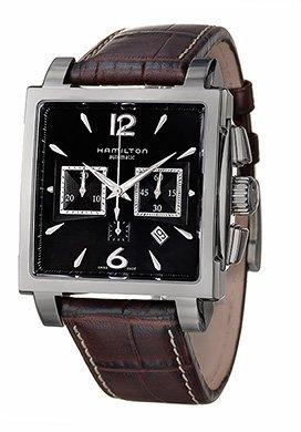 Hamilton - Reloj de pulsera hombre, piel