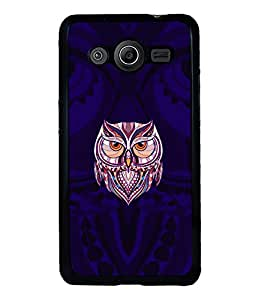 printtech Owl Cool Back Case Cover for Samsung Galaxy Core 2 G355H