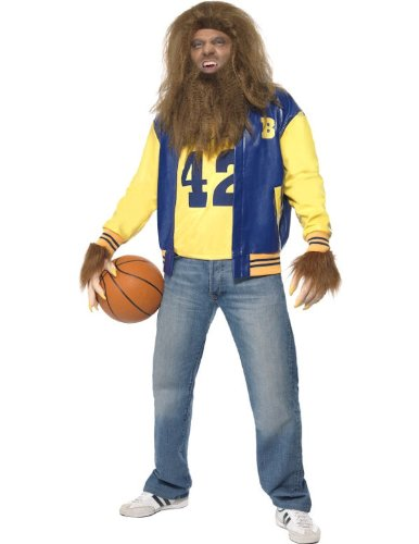 Smiffys Men's Yellow/Blue Teen Wolf Costume -