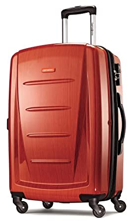 (新品)新秀丽Samsonite 旅行拉杆箱 Winfield 2 Fashion HS Spinner 24 橘色$156.03