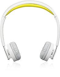 Headset Bluetooth Foldable H6080 Yellow