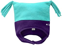 Columbia Baby Girls\' Pigtail Hat, Oceanic/Hyper Purple, One Size