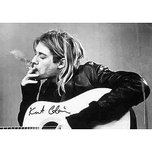 Kurt Cobain Smoking  30x40  Kurt Cobain Smoking