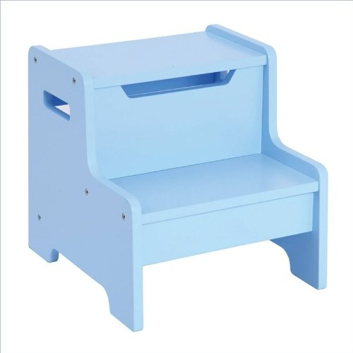 Ababy Expressions Step Stool, Light Blue front-649043