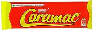 Nestlé Caramac Vanilla Chocolate Bar 30 g (Pack of 48)