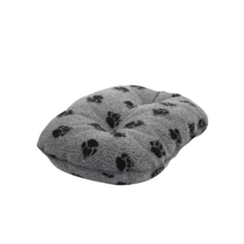 Bild von: Hund Quilted Mattress - Sherpa Fleece Grey Luxury Quilted Mattress 101cm-40