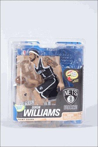 マクファーレントイズ NBAフィギュア シリーズ22/デロン・ウィリアムス/コレクターズレベル黒/ブルックリン・ネッツ -