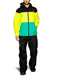 Rip Curl The Muse Men's Snow Jacket - Yellow, Large (Old Version)