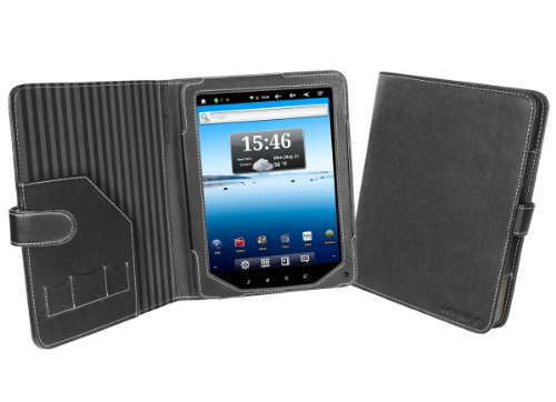 Cover-Up Nextbook Premium8 Tablet PC Cover Case (Book Style) - Black at Electronic-Readers.com