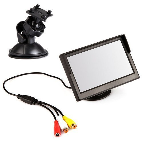 Szstudio 5 Inch TFT LCD Car Color Rear View Monitor Parking