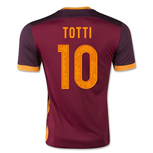 as-roma-10-totti-2015-16-home-soccer-adult-football-jersey
