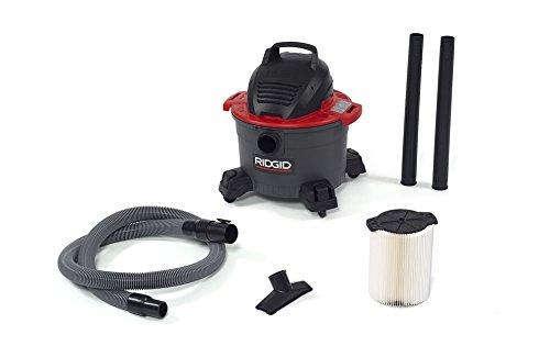 Ridgid 50308 6000RV Wet/Dry Vacuum, 6 gal, Red (Ridgid Wet Dry Vacuum 6 Gallon compare prices)