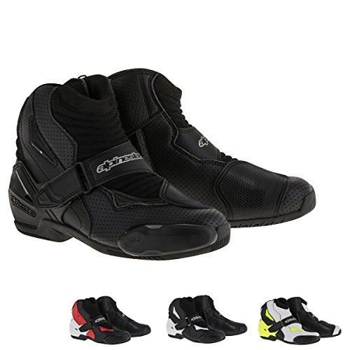 Alpinestars SMX-1 R Vented Boots 43 Black/Red