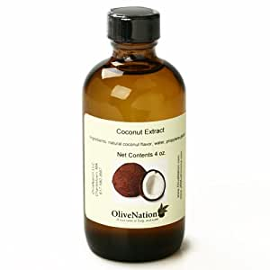 Pure Coconut Extract (4 ounce)