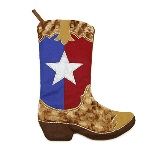 Cowboy Boot Christmas Stocking