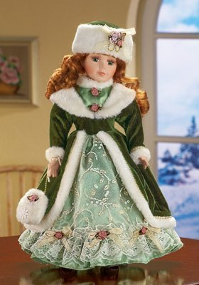 Winter Kate Porcelain Collectiible Doll