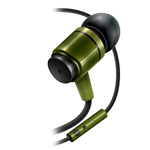Ultra-Durable AudiOHM RNF Army Green Ergonomic Headphones with Lifetime Warranty by GOgroove feat. Handsfree Mic and Military Grade Materials for Body Armor for Apple , Samsung , LG and More (Make Voice Deeper compare prices)