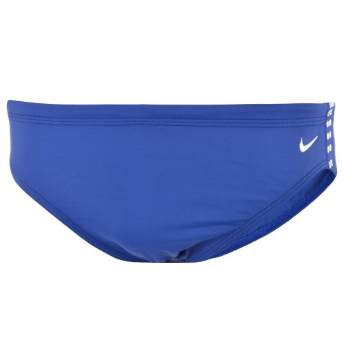 Nike Lycra Mens Swimming Trunk Briefs - Blue - EMB0101 - 30