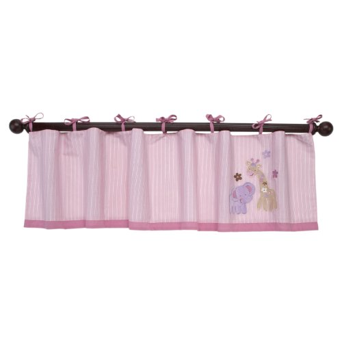 Nojo Sweet Jungle Babies Valance front-905050