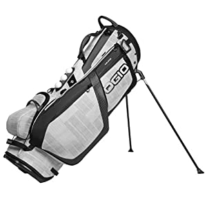OGIO Grom Stand Bag, White/Charcoal
