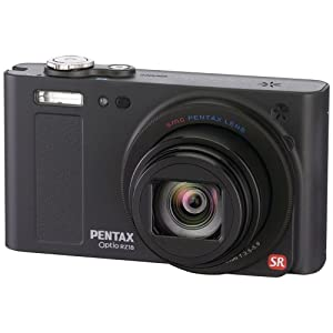 Pentax Optio RZ-18 16 MP Digital Camera with 18x Optical Zoom – Black