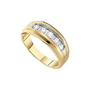 0.50CT DIAMOND FASHION MENS RING Amazon.com