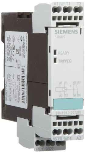 Siemens 3Rn1010-2Cg0 0 Thermistor Motor Protection Relay, Cage Clamp Terminal, Standard Evaluation Units, 2 Leds, 22.5Mm Width, Auto Reset, 1 No + 1 Nc Contacts, 110Vac Control Supply Voltage