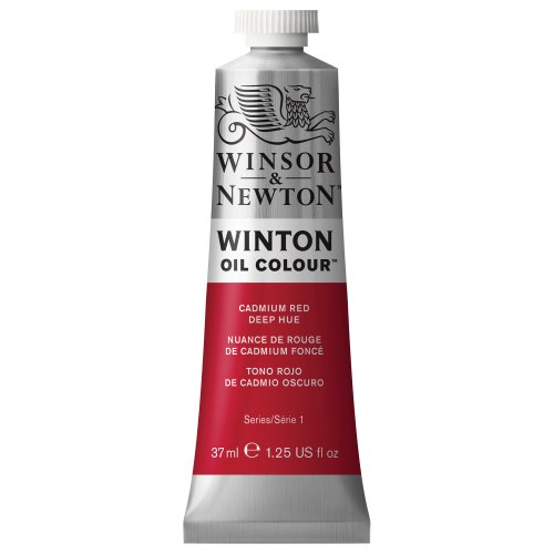 Winsor & Newton Winsor & Newton Winton Oil Colour Tube, 37ml, Cadmium Red Deep Hue