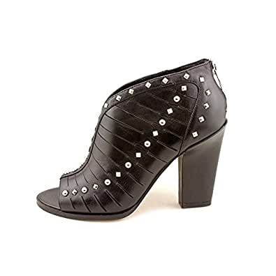 Amazon.com: Marc Fisher Karry Womens Open Toe Leather Booties Shoes