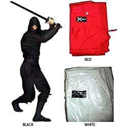 Gungfu Authentic Ninja Uniform - Black / Small