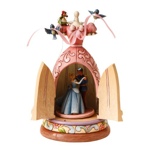 Disney Traditions Cinderella Dress A Dream is a Wish Your Heart Makes Musical Figurine