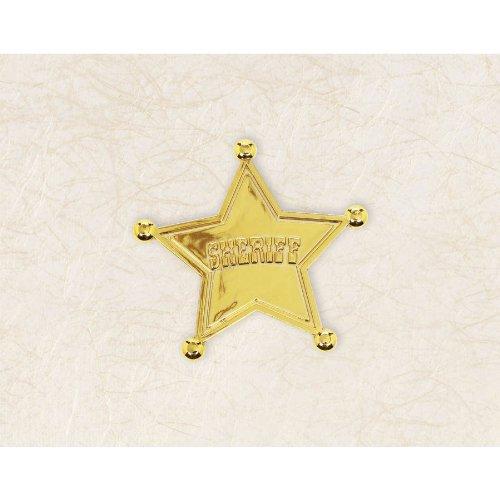 Star Shaped Sherrif Badge