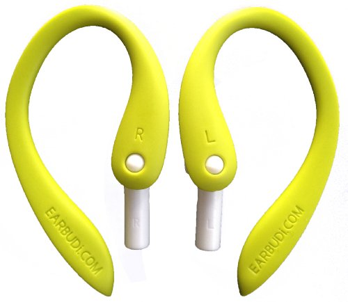 New Earbudi Bright Green - Clips On And Off Your Apple Ipod Or Iphone 5 Earpods