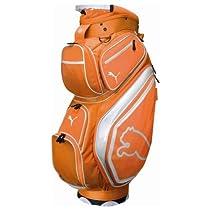 Puma Monoline Cart Bag (Vibrant Orange, 9-Inch Top)