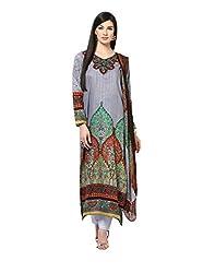Yepme Calista Salwar Kameez Set - Grey -- YPMRTS0213_Free Size