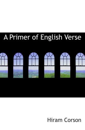 A Primer of English Verse
