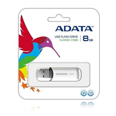 ADATA Classic Series C906 8 GB USB 2.0 Flash Drive AC906-8G-RWH