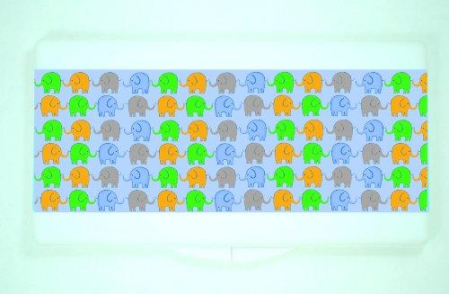 Kidzies Wipeaze, Baby Wipes Case, Elephant Design front-826094