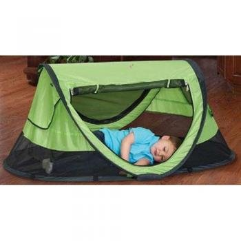 Check Out This KidCo Peapod Plus Portable Bed - Kiwi