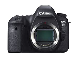 Canon EOS 6D Digital SLR Camera (Body Only)