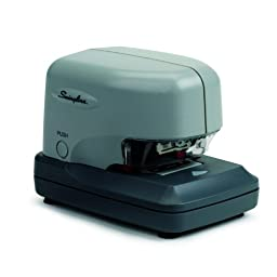 Swingline 69001 Swingline 690e High-Volume Electric Stapler, 30 Sheet Capacity, Gray