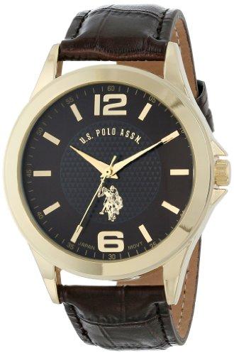 U.S. Polo Assn. Classic Men'S Usc50197 Analog-Quartz Brown Watch
