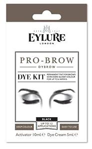 Eylure pro-brow Dybrow Dye Kit- Black