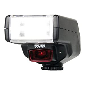 Bower SFD450N Digital Dedicated Autofocus i-TTL Illuminator for Nikon D2X/D40/D80/D90/D3100/D3200/D5100/D5200/D7000/D7100 and Similar DSLRs (Black)