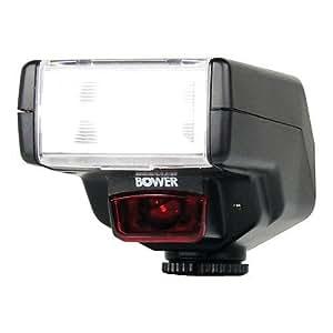 Bower SFD450N Digital Dedicated Autofocus i-TTL Illuminator for Nikon D2X/D40/D80/D90/D3100/D3200/D5100/D5200/D7000/D7100 and Similar DSLRs (Black)