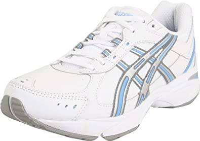 Asics Gel-Resort 2 Womens White Wide Leather Walking Shoes