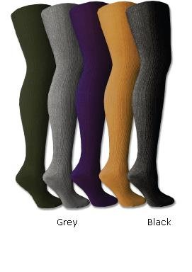 Women's Ribbed Sweater Premium Tights - Colors Available
