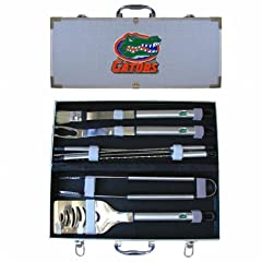 Buy NCAA Florida Gators 8 Piece BBQ Set by SISKIYOU