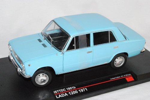 Lada VAZ 2101 1200 1971 Hell Blau 1/18 Ist Ixo Modell Auto